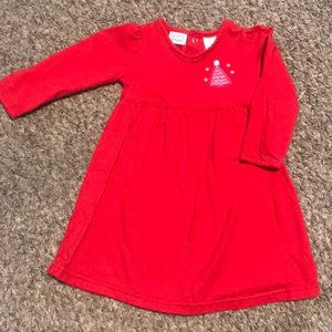 Nursery Rhyme 12 Month Christmas Dress